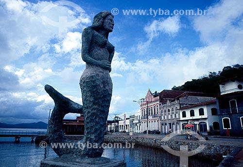 Assunto: Monumento na Ilha de São Francisco do Sul / Local: Santa Catarina (SC) - Brasil / Data: 10/2007