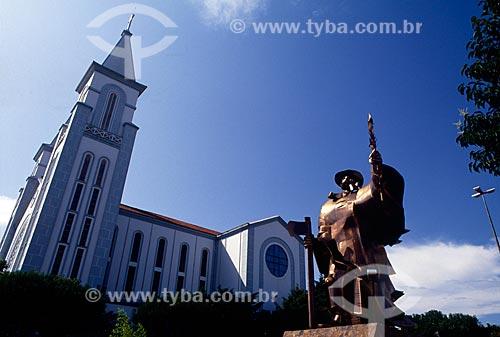 Assunto: Monumento ao Desbravador / Local: Chapecó - Santa Catarina (SC) - Brasil / Local: 09/2007