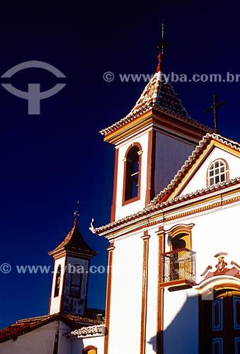 Assunto: Capela Nosso Senhor do Bonfim / Local: Diamantina - Minas Gerais (MG) - Brasil / Data: 07/2006