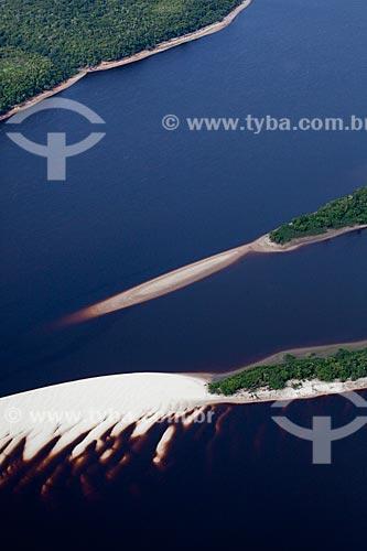 Assunto: Vista aérea do arquipélago fluvial de Anavilhanas, no Rio Negro  / Local: Amazonas (AM) - Brasil  / Data: 10/2011