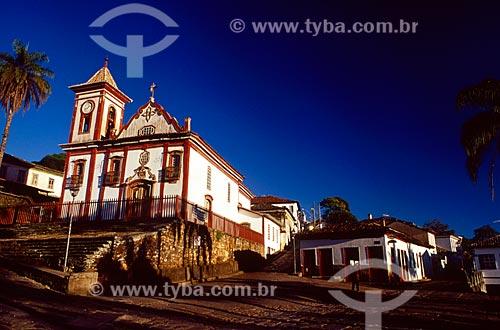 Assunto: Igreja de São Francisco de Assis / Local: Diamantina - Minas Gerais (MG) - Brasil / Data: 07/2006