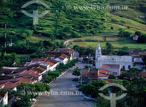Assunto: Vista da cidade de Solidão / Local: Solidão - Pernambuco (PE) - Brasil / Data: 08/2008