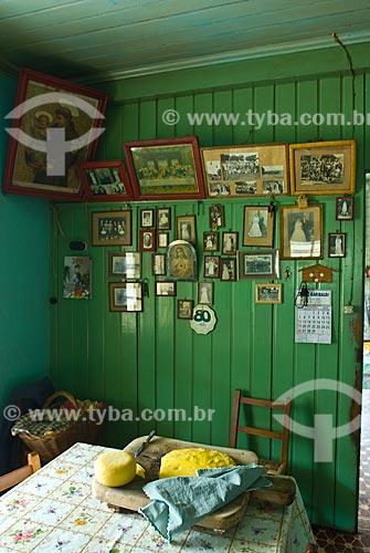 Assunto: Casa de uma colônia italiana / Local: Garibaldi - Rio Grande do Sul (RS) - Brasil / Data: 02/2012