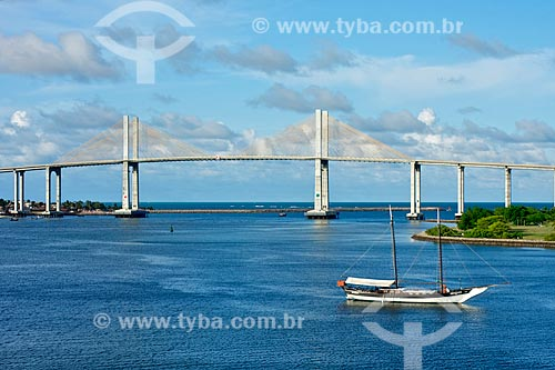 Assunto: Vista da Ponte de Todos - Newton Navarro / Local: Natal - Rio Grande do Norte (RN) - Brasil / Data: 02/2012