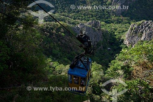 Assunto: Teleférico que da acesso a Gruta de Ubajara / Local: Ubajara - Ceará (CE) - Brasil / Data: 11/2011