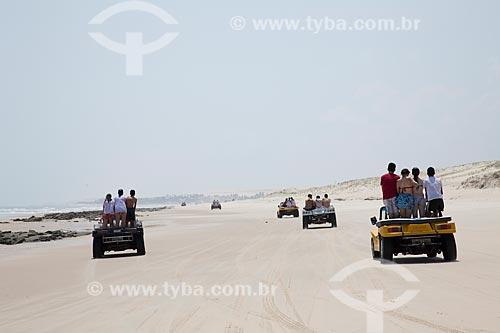 Assunto: Passeio de bugre pelo litoral cearense / Local: Ceará (CE) - Brasil / Data: 11/2011