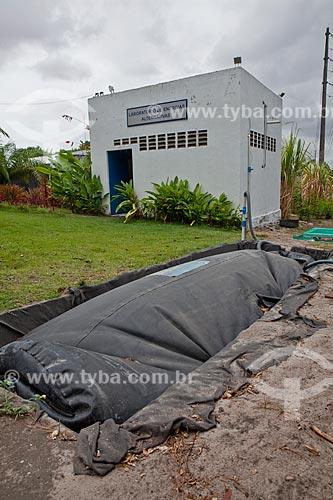 Assunto: Biodigestor do Laboratório de Energias Alternativas / Local: Fortaleza - Ceará (CE) - Brasil  / Data: 10/2011