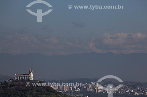 Assunto: Vista da Igreja da Penha / Local: Rio de Janeiro (RJ) - Brasil / Data: 02/2012