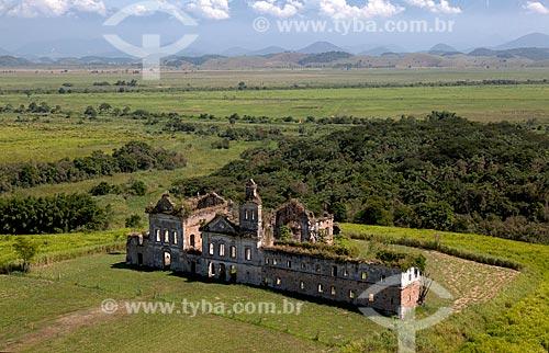 Assunto: Vista aérea das Ruínas do Convento São Boaventura / Local: Itaboraí - Rio de Janeiro (RJ) - Brasil  / Data: 03/2012