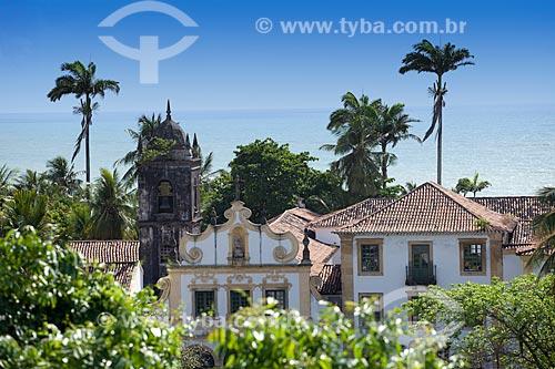 Assunto: Igreja de Nossa Senhora das Neves - Conjunto arquitetônico do Convento de São Francisco foi o primeiro estabelecimento franciscano do Brasil erguido em 1585 / Local: Olinda - Pernambuco (PE) - Brasil / Data: 11/2011