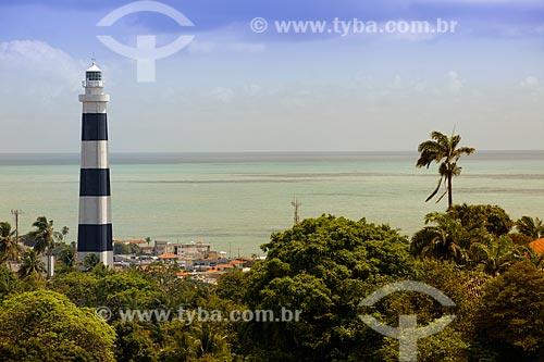 Assunto: Farol de Olinda (1941) no Morro Serapião / Local: Olinda - Pernambuco (PE) - Brasil / Data: 11/2011