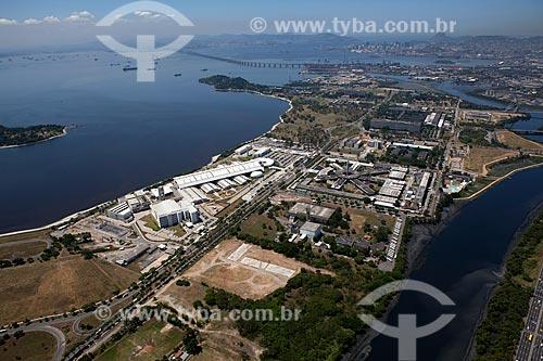 Assunto: Vista aérea das instalações do Centro de Pesquisas e Desenvolvimento Leopoldo Américo Miguez de Melo / Local: Rio de Janeiro (RJ) - Brasil / Data: 03/2012