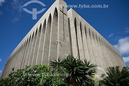 Assunto: Santuário Dom Bosco - Igreja construída em homenagem ao padroeiro de Brasília São João Melchior Bosco / Local: Brasília - Distrito Federal (DF) - Brasil / Data: 11/2011