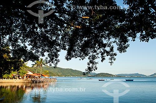 Assunto: Restaurante na Ponta do Sambaqui / Local: Distrito de Santo Antonio de Lisboa - Florianópolis - Santa Catarina (SC) - Brasil / Data: 03/2012