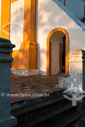 Assunto: Igreja de Nossa Senhora das Necessidades / Local: Distrito de Santo Antonio de Lisboa - Florianópolis - Santa Catarina (SC) - Brasil / Data: 03/2012