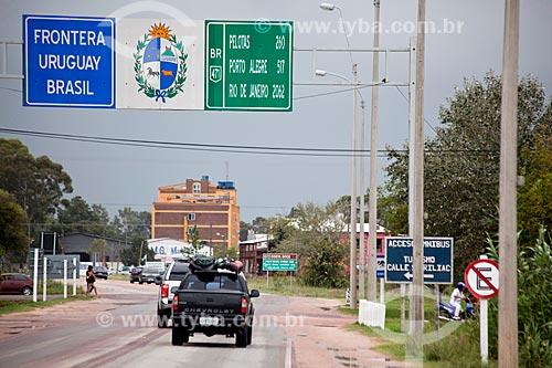 Assunto: Fronteira Brasil-Uruguai - Rodovia BR-471 / Local: Chuí - Rio Grande do Sul (RS) - Brasil / Data: 02/2012