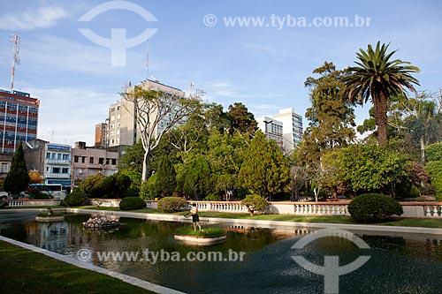Assunto: Vista da Praça Xavier Ferreira / Local: Rio Grande - Rio Grande do Sul (RS) - Brasil / Data: 02/2012