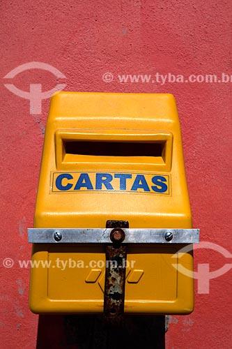Assunto: Caixa de correio / Local: Tavares - Rio Grande do Sul (RS) - Brasil / Data: 02/2012