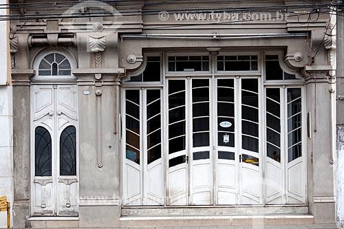 Assunto: Empresa de Pompas Funebres - Arquitetura Art Decô / Local: Pelotas - Rio Grande do Sul (RS) - Brasil / Data: 02/2012