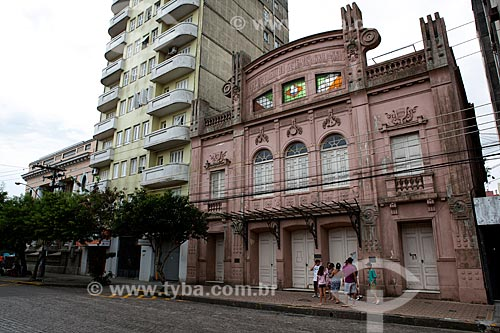 Assunto: Teatro Sete de Abril na Praça Coronel Pedro Osório / Local: Pelotas - Rio Grande do Sul (RS) - Brasil / Data: 02/2012