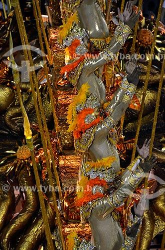 Assunto: Desfile da Escola de Samba Beija-Flor de Nilópolis - Homenagem a Joãosinho Trinta - Enredo 2012 - São Luís: O poema encantado do Maranhão  / Local: Rio de Janeiro (RJ) - Brasil / Data: 02/2012