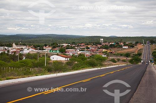 Assunto: Vista da Rodovia BR-304 no semiárido potiguar / Local: Caiçara do Rio do Vento - Rio Grande do Norte (RN) - Brasil / Data: 03/2012