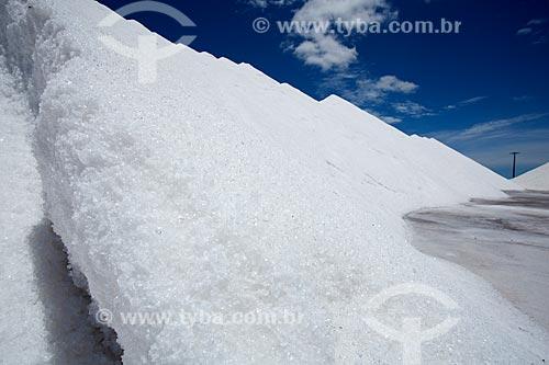Assunto: Salina Morro Branco - Montanha de cristal de sal  / Local: Mossoró - Rio Grande do Norte (RN) - Brasil / Data: 03/2012