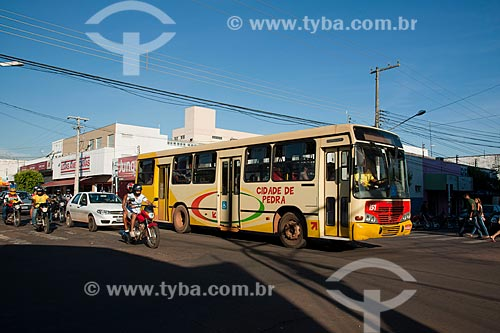 Assunto: Transporte coletivo no centro da cidade de Rondonópolis / Local: Rondonópolis - Mato Grosso (MT) - Brasil / Data: 12/2011
