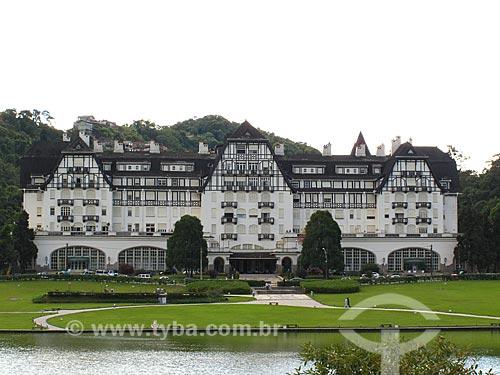Assunto: Palácio Quitandinha ou Hotel Quitandinha / Local: Petrópolis - Rio de Janeiro (RJ) - Brasil / Data: 05/2012