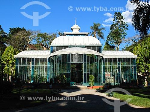 Assunto: Palácio de Cristal (1884) / Local: Petrópolis - Rio de Janeiro (RJ) - Brasil / Data: 05/2012