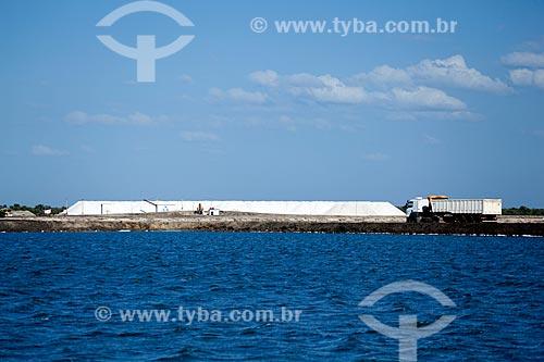 Assunto: Tanque de cristalização da água do mar / Local: Porto do Mangue - Rio Grande do Norte (RN) - Brasil / Data: 03/2012