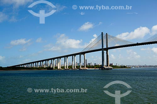 Assunto: Ponte de Todos Newton Navarro que liga a zona norte de Natal à praia de Redinha / Local: Natal - Rio Grande do Norte (RN) - Brasil / Data: 03/2012