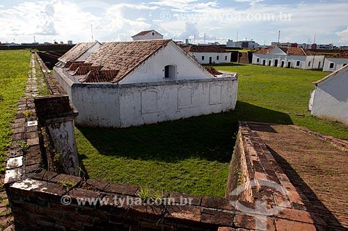 Assunto: Vista da Fortaleza de São José de Macapá (1782)Data: 04 / Local: Macapá - Amapá (AP) - Brasil / Data: 04/2012