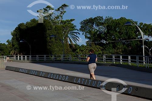 Assunto: Marco Zero do Equador / Local: Macapá - Amapá (AP) - Brasil / Data: 04/2012