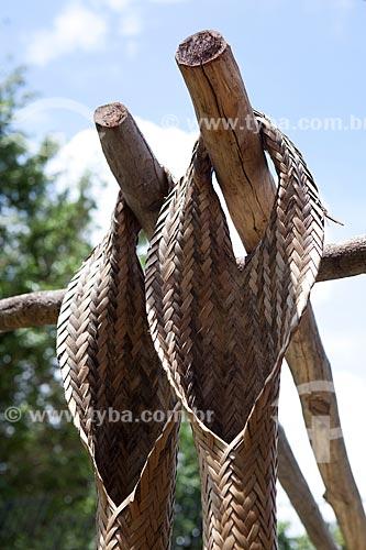 Assunto: Museu Sacaca - Tipiti (utensílio utilizado na produção de Farinha de Mandioca)Local: Macapá - Amapá (AP) - BrasilData: 04 / Local: 2012 / Data: 04/2012