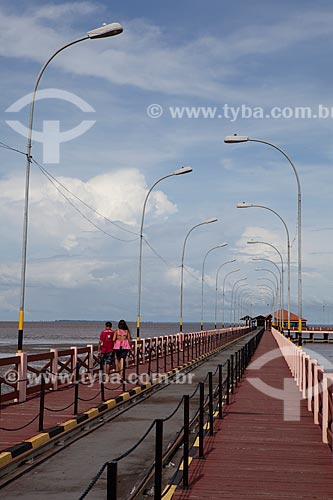 Assunto: Trapiche Eliezer Levy sobre o Rio Amazonas / Local: Macapá - Amapá (AP) - Brasil / Data: 04/2012