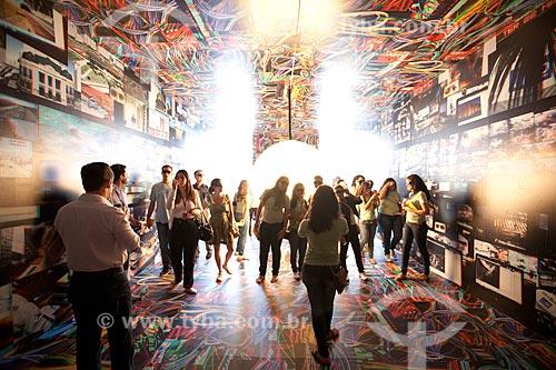 Assunto: Sala 3D - Exposição Humanidades no Forte Copacabana durante a conferência Rio+20 / Local: Copacabana - Rio de Janeiro (RJ) - Brasil / Data: 06/2012