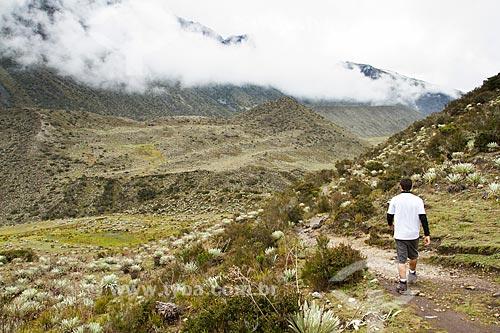 Assunto: Trilha para o Pico Pan de Azúcar no Parque Nacional Sierra de la Culata / Local: Mérida - Mérida - Venezuela - América do Sul / Data: 05/2012