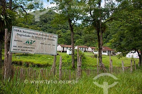 Assunto: Alojamento de antiga mineradora desativada na zona rural de Iporanga / Local: Iporanga - São Paulo (SP) - Brasil / Data: 02/2012