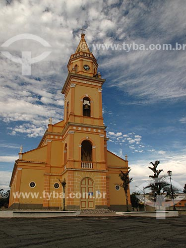 Assunto: Igreja Matriz de Santo Antonio (1830) / Local: Cachoeira Paulista - São Paulo (SP) - Brasil / Data: 06/2012