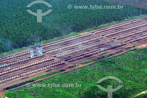 Assunto: Fornos de carvoaria. / Local: Açailândia - Maranhão (MA) - Brasil / Data: 05/2012