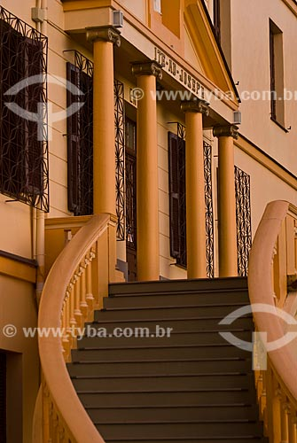 Assunto: Fachada do antigo Mosteiro São José - Fundado pelas Irmãs de São José de Moüthier - A partir de 1963 passou a ser utilizado como hotel / Local: Garibaldi - Rio Grande do Sul (RS) - Brasil / Data: 02/2012