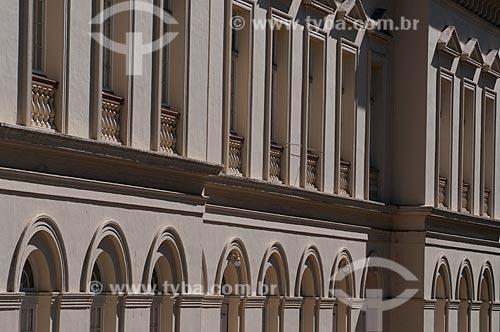 Assunto: Fachada do teatro São Pedro (1852) / Local: Porto Alegre - Rio Grande do Sul (RS) - Brasil / Data: 05/2012
