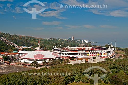 Assunto: Vista área do Complexo do Beira-Rio / Local: Porto Alegre - Rio Grande do Sul (RS) - Brasil / Data: 05/2012
