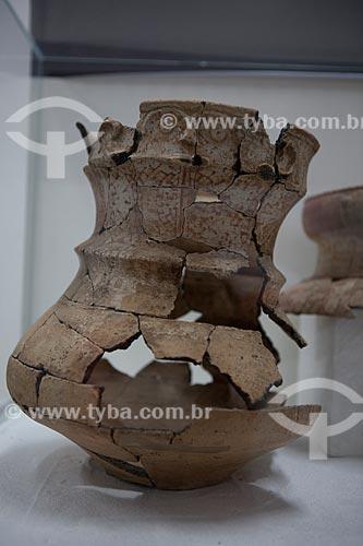 Assunto: Museu Sacaca - Urna funerária antropomorfa - Calçoene / Local: Macapá - Amapá (AP) - Brasil / Data: 04/2012