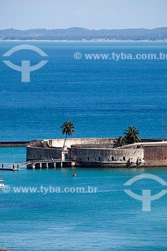 Assunto: Forte de São Marcelo (Séc. XVII) / Local: Salvador - Bahia (BA) - Brasil / Data: 07/2012