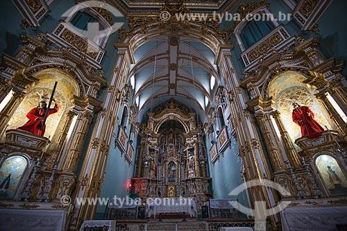 Assunto: Altar da Igreja da Ordem Terceira de Nossa Senhora do Monte do Carmo (1636)  / Local: Largo do Carmo - Salvador - Bahia (BA) - Brasil / Data: 07/2012
