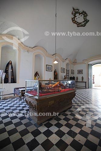 Estátua do Cristo Morto, esculpida por Francisco das Chagas - apelidado