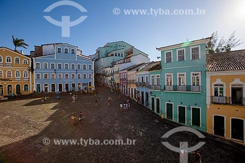Assunto: Casarios históricos do Pelourinho / Local: Pelourinho - Salvador - Bahia (BA) - Brasil / Data: 07/2012