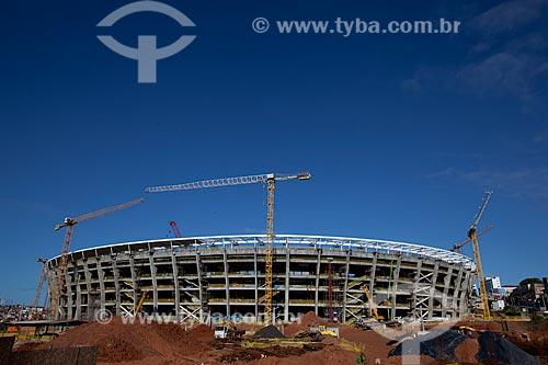 Assunto: Reforma do Estádio Otávio Mangabeira - Fonte Nova - para a Copa do Mundo de  2014 / Local: Salvador - Bahia (BA) - Brasil / Data: 07/2012